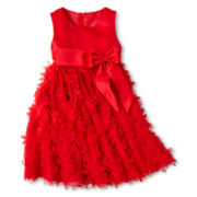 Princess Faith Petal Dress - Girls 2t-4t