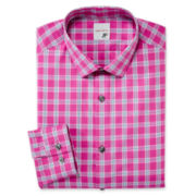 JF J. Ferrar® Cotton Dress Shirt - Slim Fit