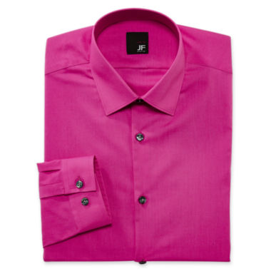 jcpenney.com | JF J. Ferrar® Solid Dress Shirt - Slim Fit