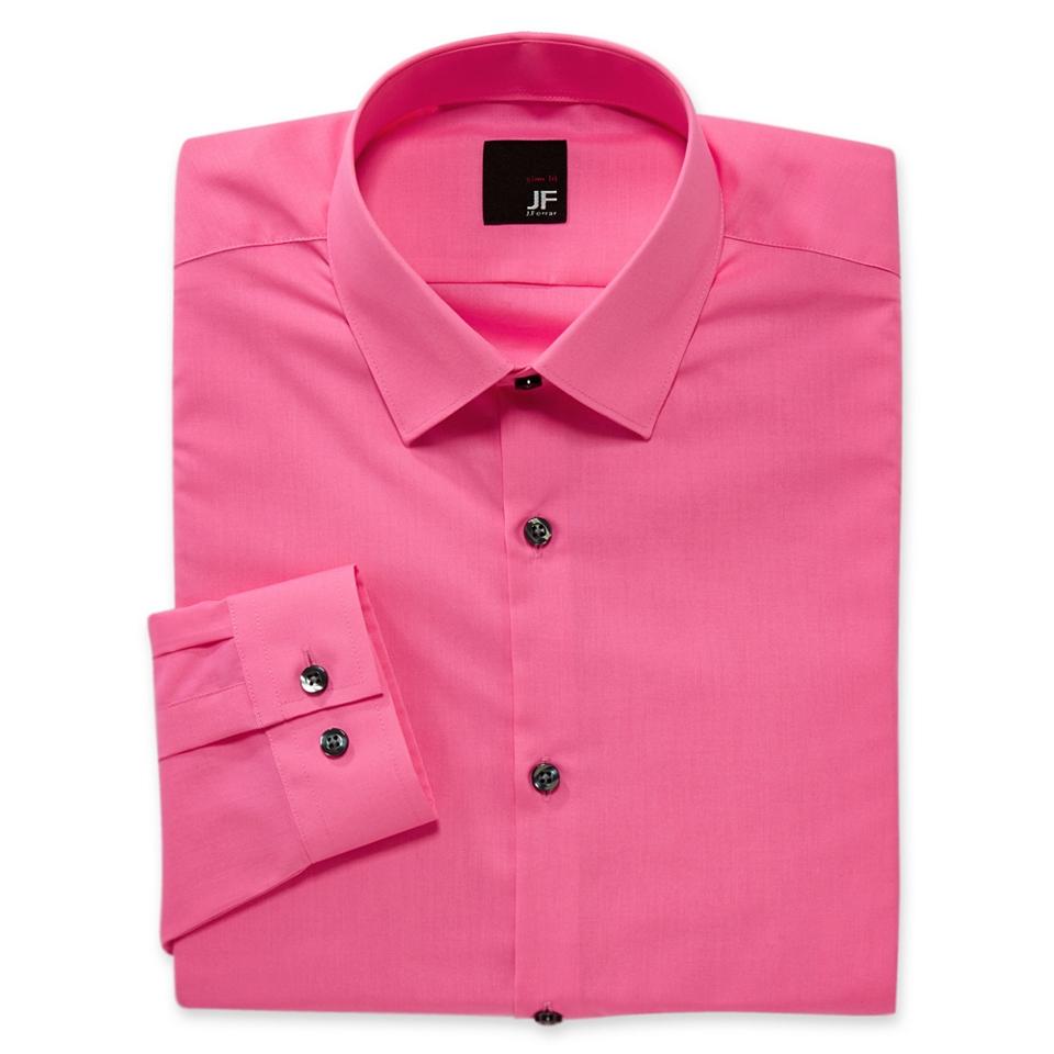 fae75d977fc7e JF J.Ferrar JF J. Ferrar Slim Solid Dress Shirt