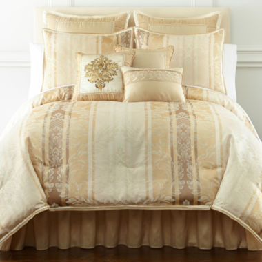 jcpenney.com | Florence 7-pc. Jacquard Comforter Set & Accessories