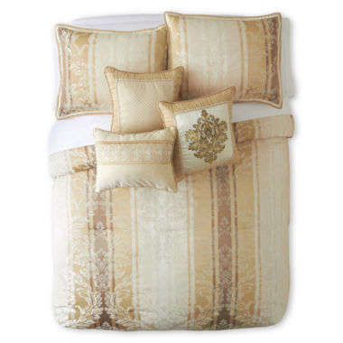 jcpenney.com | Florence 7-pc. Jacquard Comforter Set