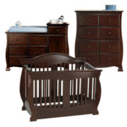 Savanna Grayson 3-pc. Baby Furniture Set - Espresso