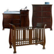Savanna Bella 3-pc. Baby Furniture Set - Espresso