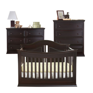 jcpenney.com | Rockland Austin 3-pc. Baby Furniture Set - Espresso