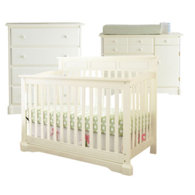 jcpenney.com | Rockland Hartford 3-pc. Baby Furniture Set - Antique White