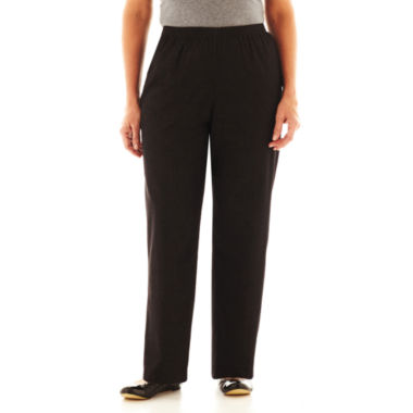 jcpenney.com | Alfred Dunner® Black Denim Pants - Plus