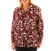 Cabin Creek® Long-Sleeve Print Blouse