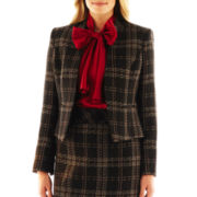 9 & Co.® Plaid Tweed Jacket