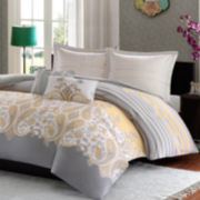 Ideology Cora Sateen Comforter Set & Accessories