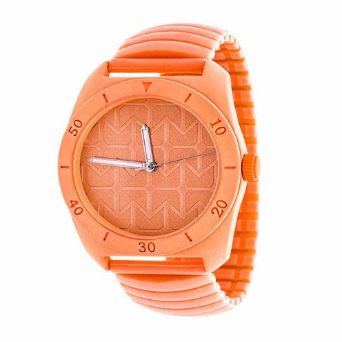 Rbx Unisex Orange Strap Watch-Rbx001no