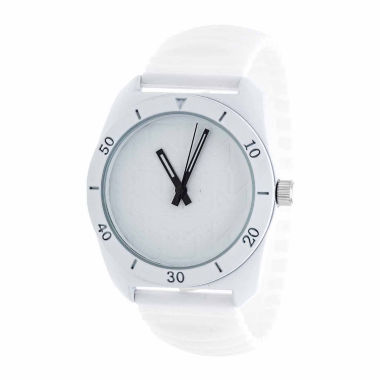 jcpenney.com | Rbx Unisex White Strap Watch-Rbx001wt