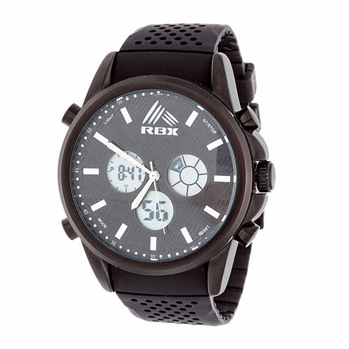 Rbx Unisex Black Bracelet Watch-Rbx012bk