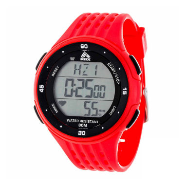 jcpenney.com | Rbx Unisex Red Strap Watch-Rbxhr001re