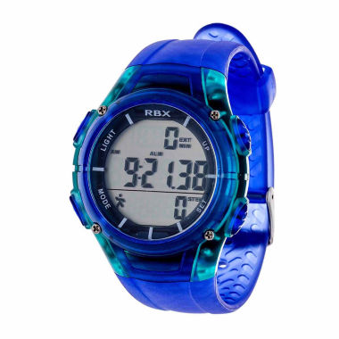 jcpenney.com | Rbx Unisex Blue Strap Watch-Rbxpd001bl-Cl