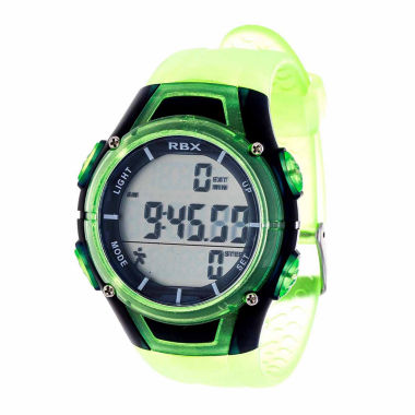 jcpenney.com | Rbx Unisex Green Strap Watch-Rbxpd001lg-Cl
