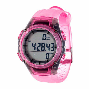 jcpenney.com | Rbx Unisex Pink Strap Watch-Rbxpd001lp-Cl