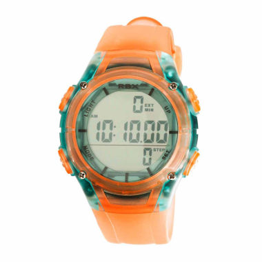 jcpenney.com | Rbx Unisex Orange Strap Watch-Rbxpd001or-Cl