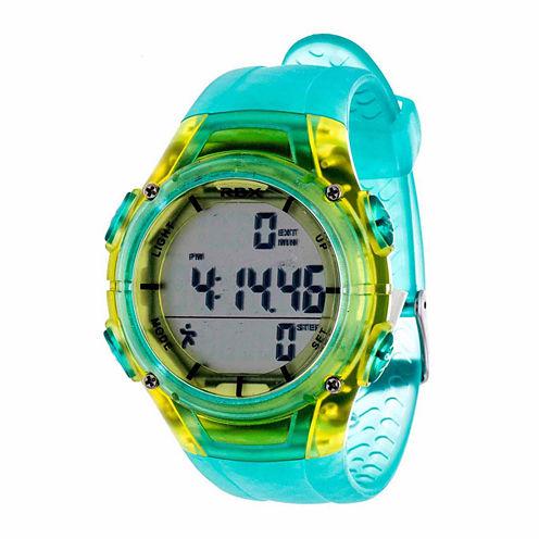Rbx Unisex Blue Strap Watch-Rbxpd001tq-Cl