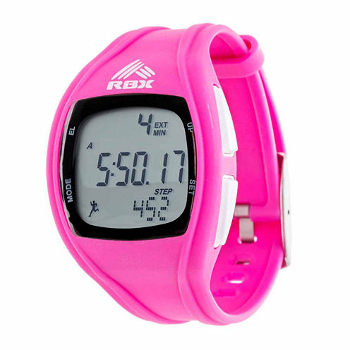 Rbx Unisex Pink Strap Watch-Rbxpd002pk