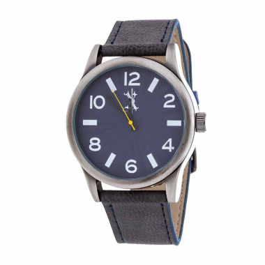 jcpenney.com | Brooklyn Exchange Mens Blue Strap Watch-Nwl398996as-Bl