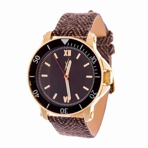 Xtreme Time Mens Gold Tone Bracelet Watch-Nwn407640g-Br