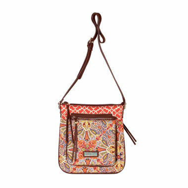 jcpenney.com | Waverly Paisley Floral Quilted Large Crossbody Bag