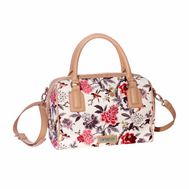 jcpenney.com | Waverly Bird Floral Large Satchel