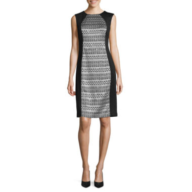 jcpenney.com | R & M Richards Sleeveless Sheath Dress
