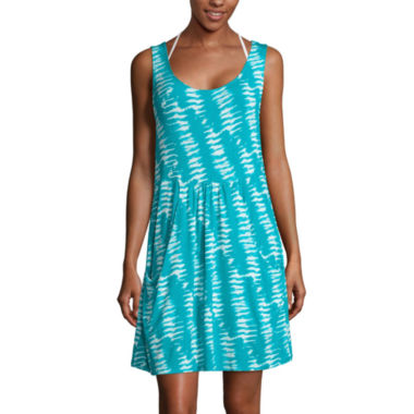 jcpenney.com | a.n.a® Deep-Pocket Swim Dress Cover-Up