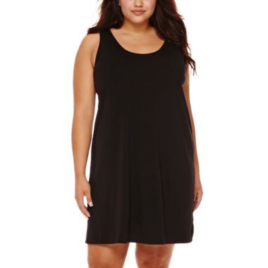 jcpenney.com | a.n.a® Crochet Dress Cover-Up - Plus