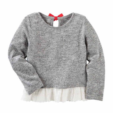 jcpenney.com | Oshkosh Long Sleeve Blouse - Preschool Girls