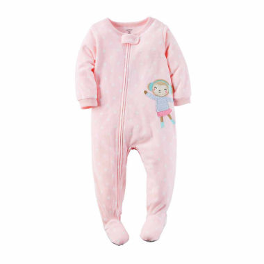 jcpenney.com | Carter's Girls Long Sleeve One Piece Pajama-Toddler