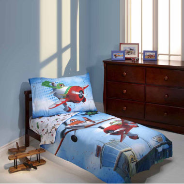 jcpenney.com | Disney 4-pc. Planes Toddler Bedding Set
