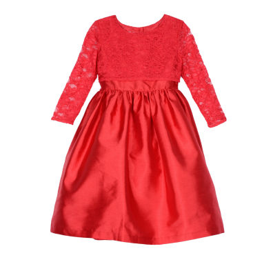 jcpenney.com | Marmellata Elbow Sleeve Party Dress - Big Kid