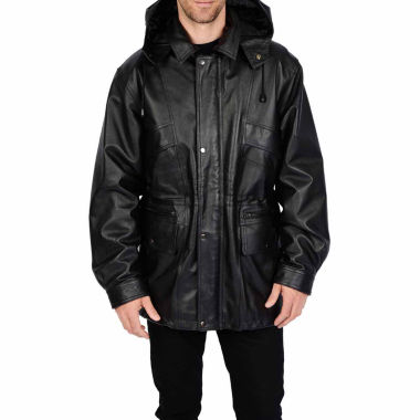 R & O Nappa Leather Parka