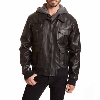 jcpenney.com | Excelled® Bomber Jacket with Hood–Big & Tall