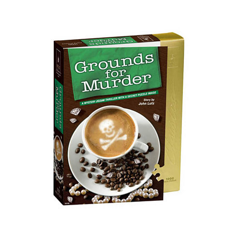 BePuzzled Grounds For Murder Classic Mystery Jigsaw Puzzle: 1000 Pcs