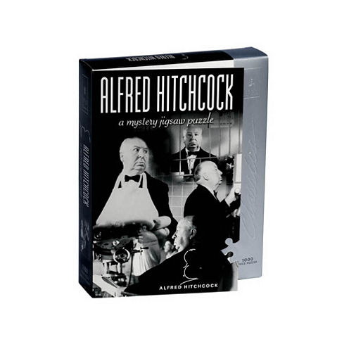 BePuzzled Alfred Hitchcock Mystery Jigsaw Puzzle:1000 Pcs