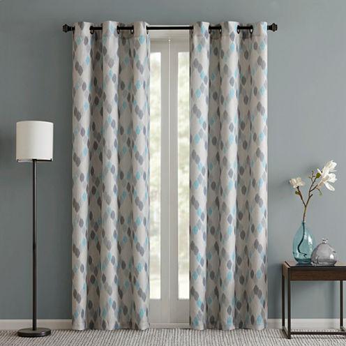 Arlo 2-Pack Grommet-Top Curtain Panels