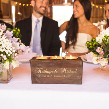 jcpenney.com | Personalized Rustic Candle Holder