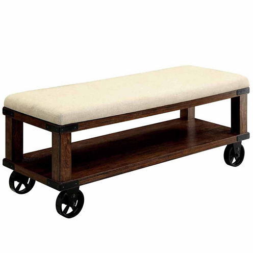 Loanna Industrial Bench