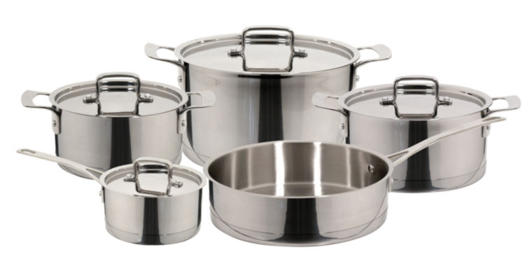 jcpenney.com | 9-pc. Stainless Steel Cookware Set
