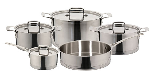 9-pc. Stainless Steel Cookware Set