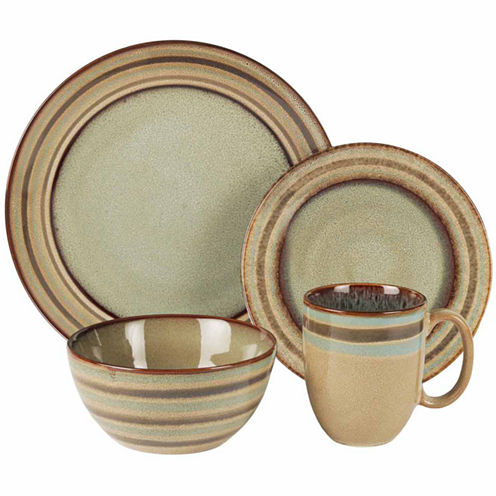 Jay Imports Zola 16-pc. Dinnerware Set