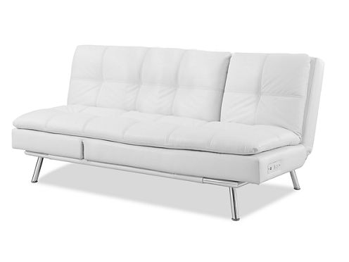 Serta Palermo Leather Sleeper Leather Sleeper Sofa