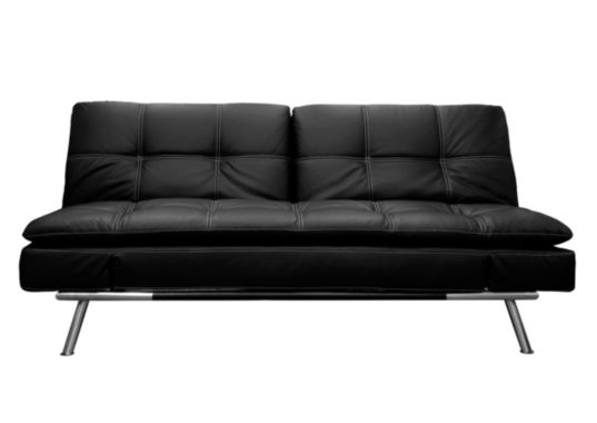 jcpenney.com | Serta Matrix Leather Sleeper Sofa