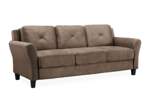 jcpenney.com | Hartford Microfiber Rolled Arm Sofa