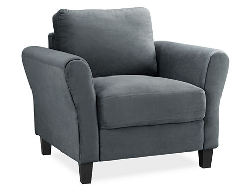 Westin Microfiber Rolled Arm Chair