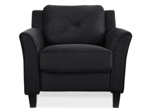 jcpenney.com | Hartford Microfiber Curved Arm Chair